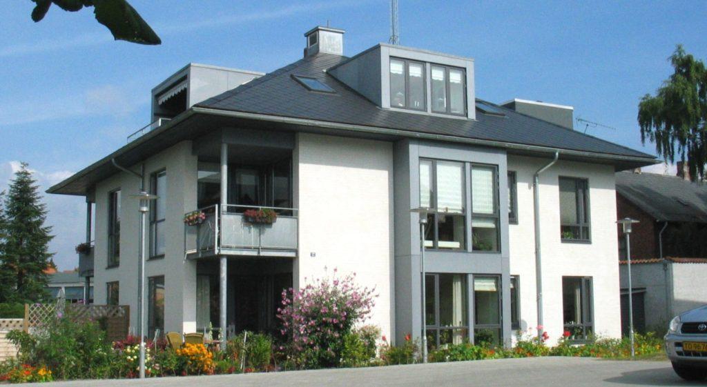 Årets Hus i Hillerød 2004 – et punkthus med fem lejligheder
